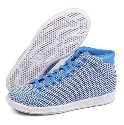 名鞋库热卖的阿迪达斯三叶草女鞋:adidas三叶草 stan smith