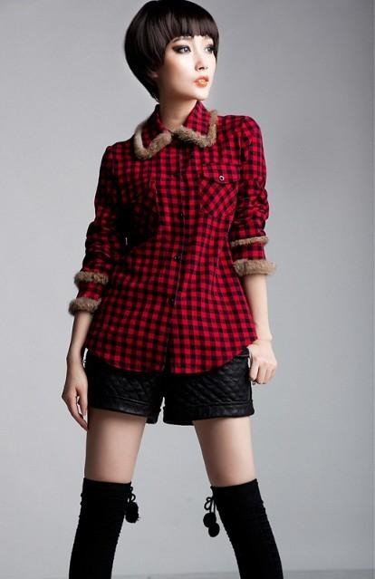 红色格子衬衫搭配什么最好 红黑格子衬衫搭配大全
