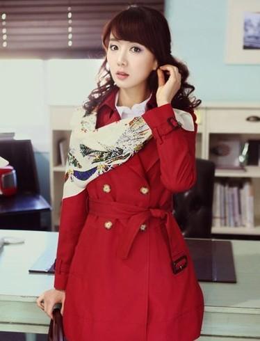 红色风衣搭配如何最时尚?