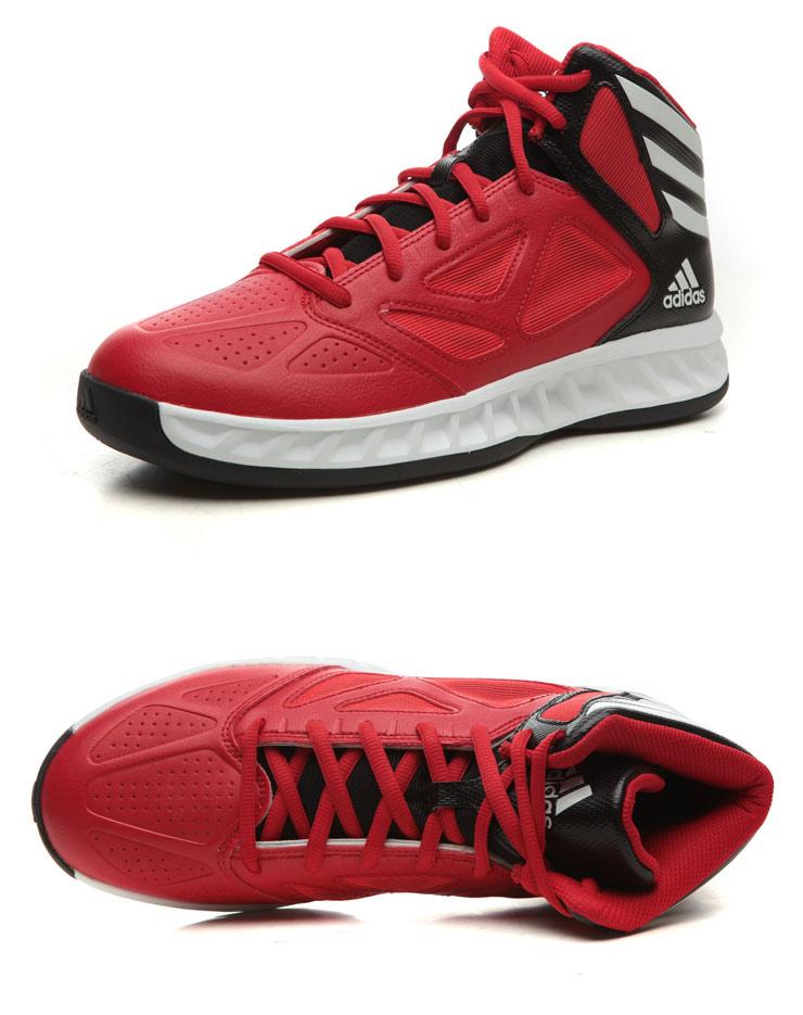 阿迪达斯adidas 2013新款 男鞋篮球 运动鞋 Q33498 名鞋库