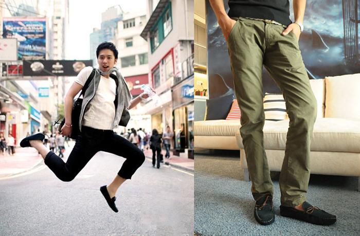 男豆豆鞋裤子搭配_2014豆豆鞋搭配ugg豆豆鞋搭配 棉豆豆鞋搭配女 图片