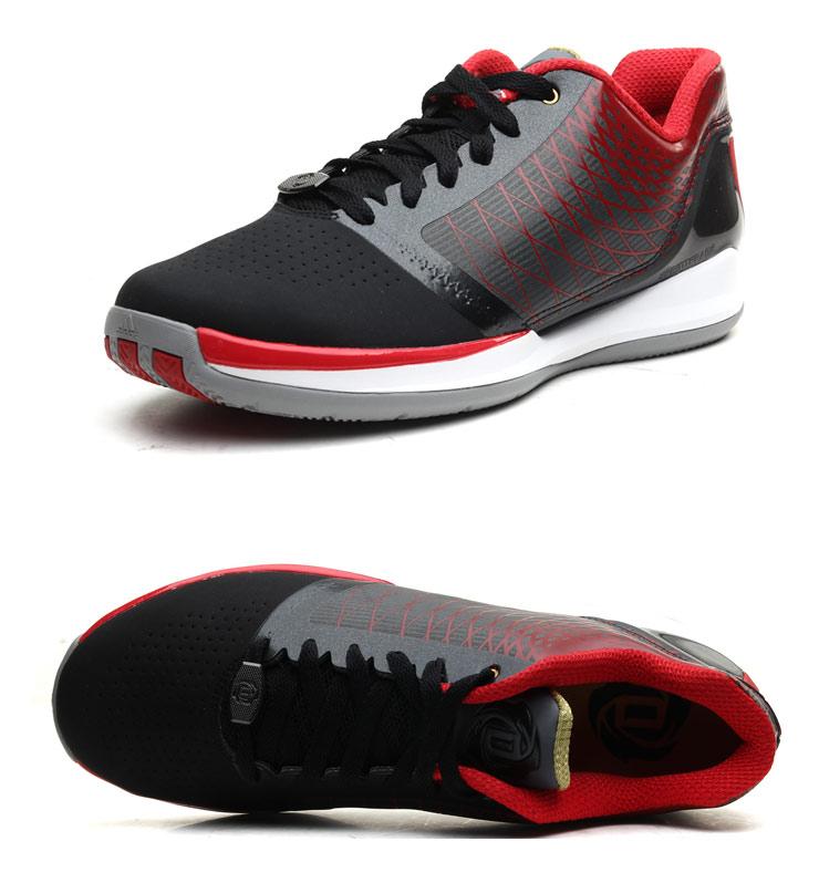 5Z 阿迪达斯adidas2013新款运动鞋男鞋罗斯系列低帮篮球鞋G67352
