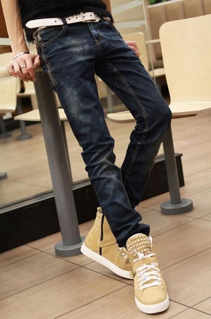 卡其色的高帮鞋搭配什么裤子的成功秘笈之一就是说
