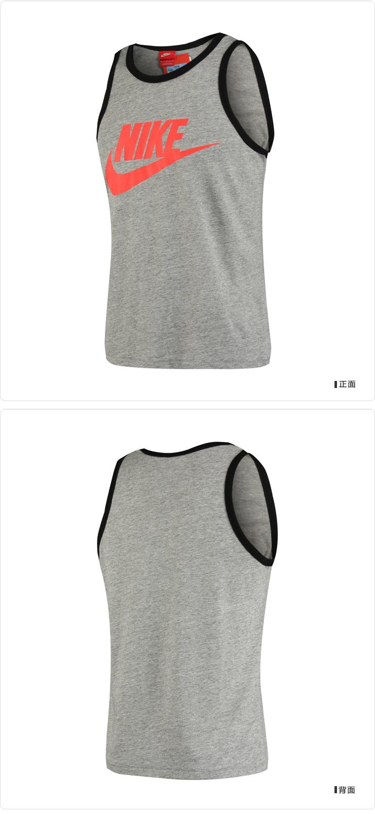 耐克nike 生活logo款针织背心男装运动服576606-064