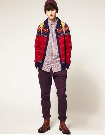 男生冬天衣服搭配尽显潮流范 冬季男生衣服搭配潮流法则 高清图片