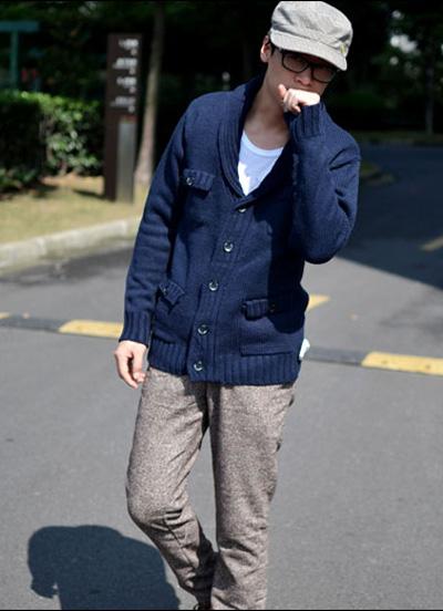 男士冬衣搭配潮流细节 冬装男士搭配完美出镜图片