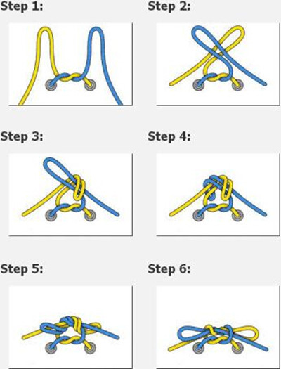 【图】鞋带的系法蝴蝶结 鞋带蝴蝶结打法图解图片