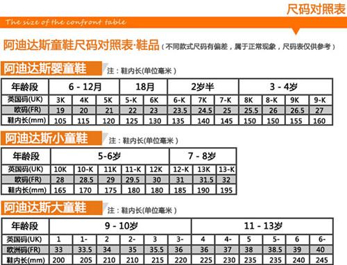 【图】婴儿鞋码数怎么选?婴儿鞋码对照表