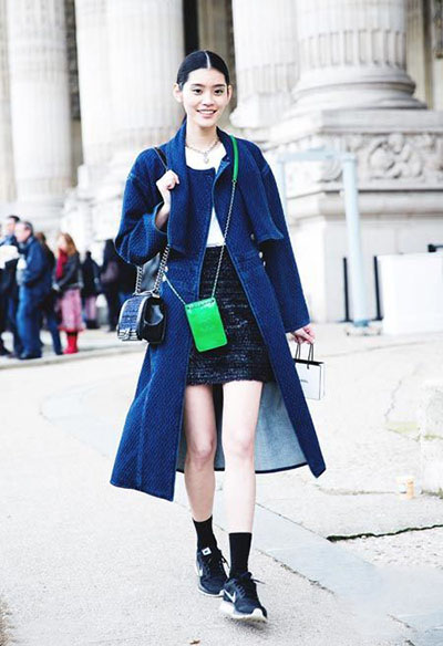 【图】休闲与时髦的秋冬运动鞋搭配示范图片