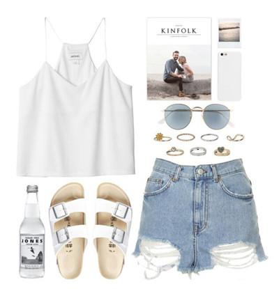 女性夏装搭配方法 女人夏装搭配图片