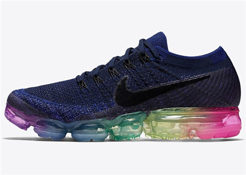 Nike vapormax彩虹带来绚丽多彩的设计感