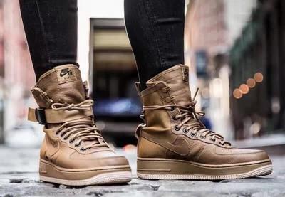 军事风来袭!Nike空军一号特种部队鞋款