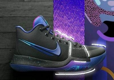 耐克欧文3断勾怎么样?Nike欧文3断勾黑蓝配色赏析