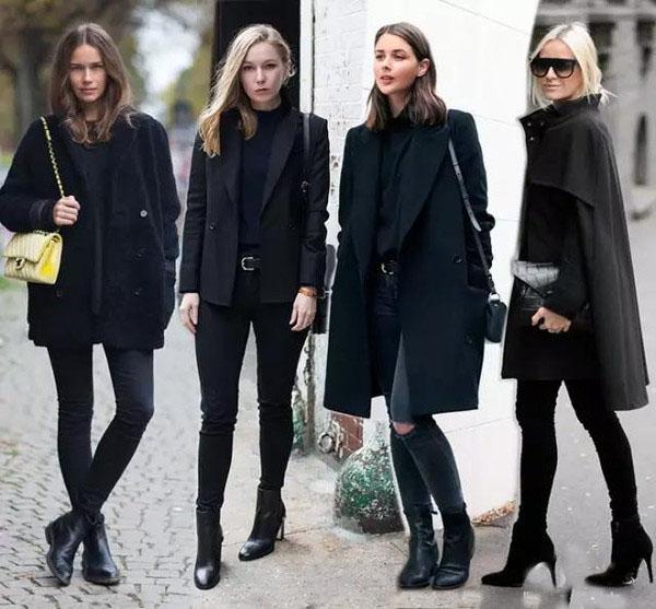 你是因为什么原因喜欢穿黑色衣服的?