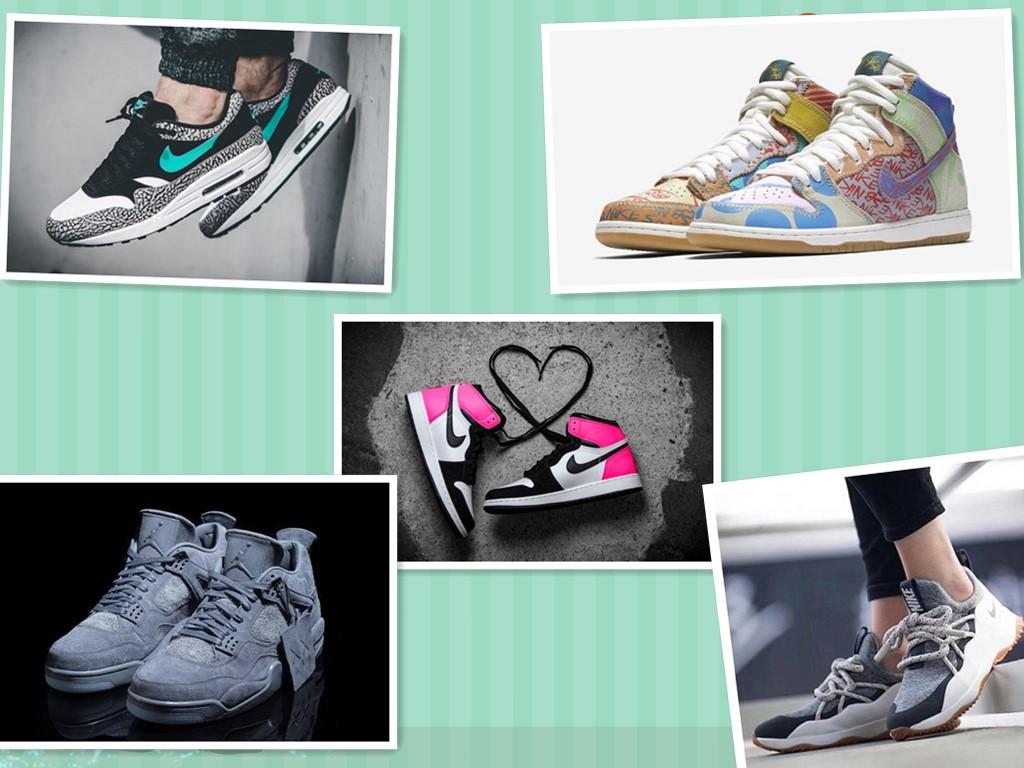 盘点几款颜值爆表的耐克运动鞋!