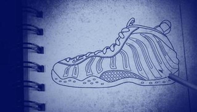 美如画的耐克喷泡球鞋,喜欢得爱不释手!