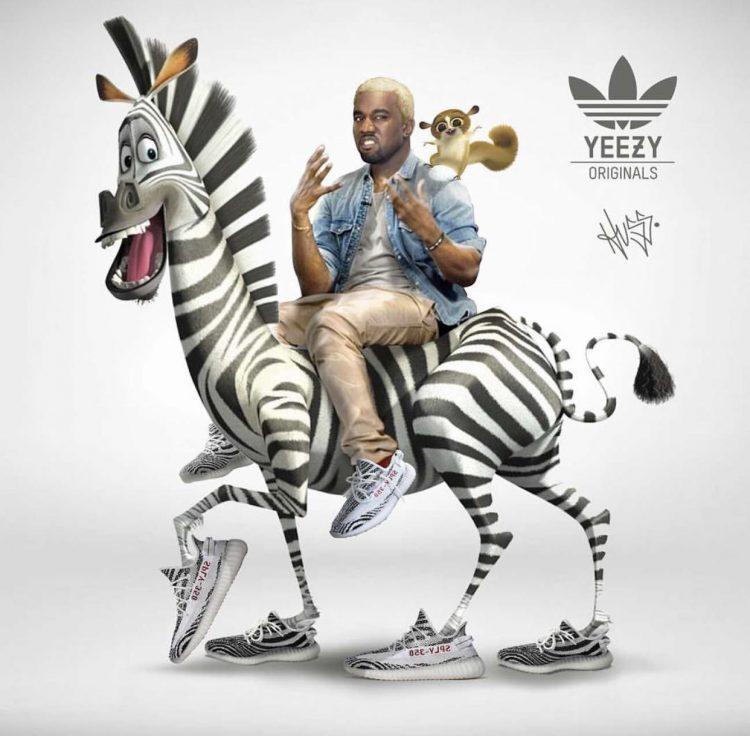 鞋迷必入手!Adidas Yeezy Boost 350 V2斑马配色赏析