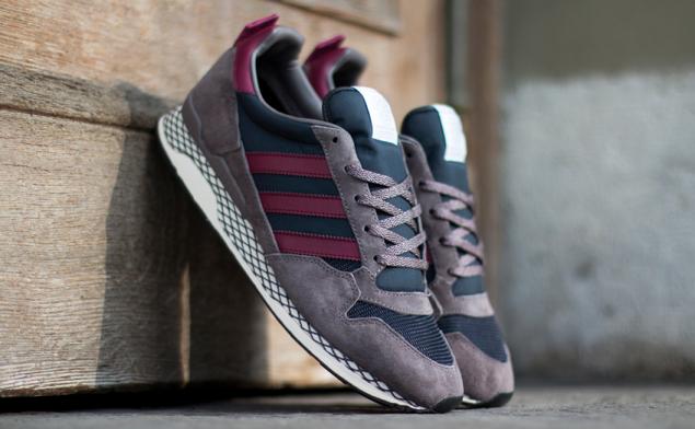 Adidas zxz adv将街头时尚与运动融合在一起