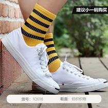 Converse匡威男女鞋帆布鞋經典款開口笑低幫休閑運動鞋1Q698