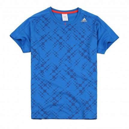 阿迪达斯adidas 男装短袖t恤 运动服 x18117
