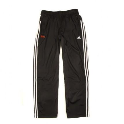阿迪达斯adidas男黑色运动裤图片