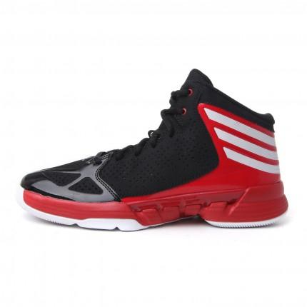 鞋子很舒适,抓地性好,双脚在鞋子内疲劳感 阿迪达斯篮球鞋G65839 名鞋库产品评价