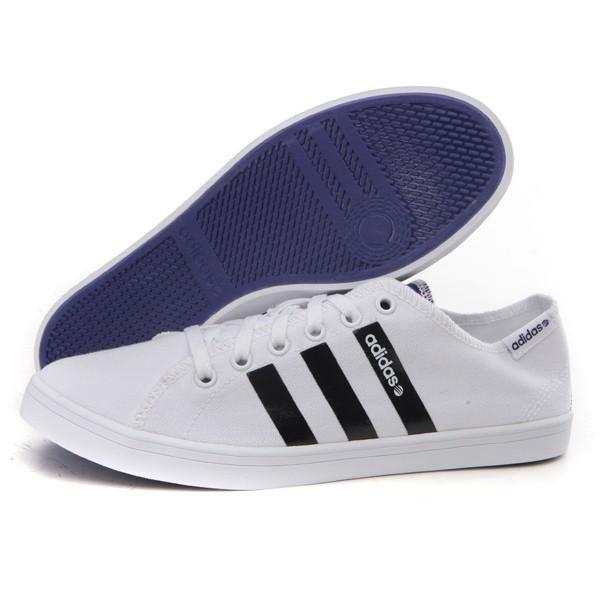 阿迪达斯adidas 2013新款 NEO 女鞋帆布鞋 运动鞋 Q38874