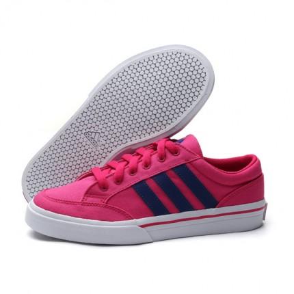 adidas阿迪达斯 生活网球女鞋网球文化织物低帮板鞋网球鞋Q34344-