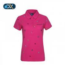 夏 Discovery Expedition户外服女装速干透气T恤短袖POLO衫DAJC82082-E21X