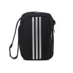 adidas阿迪达斯男子单肩包三条纹运动包附配件S02196