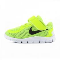 耐克NIKE 童鞋男童女童儿童婴童FREE赤足轻便透气跑步鞋运动鞋725107