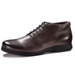 朗蒂维男士短靴真皮系带军靴复古马丁靴新款潮流工装靴英伦男靴子L15S008A-2