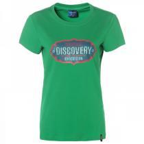 夏 非凡探索Discovery Expedition户外服新款女装休闲字母印花短袖T恤DAJD82127-D49X
