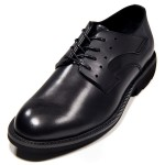【断码清仓】朗蒂维休闲皮鞋男英伦系带商务鞋真皮圆头低帮鞋L15C012A-1