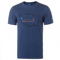 非凡探索Discovery Expedition户外服新款男装休闲地图印花短袖T恤DAJD81125-C27X