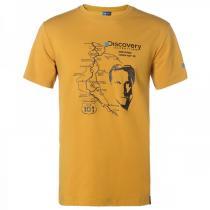 夏 非凡探索Discovery Expedition户外服新款男装休闲地图印花短袖T恤DAJD81124-B36X