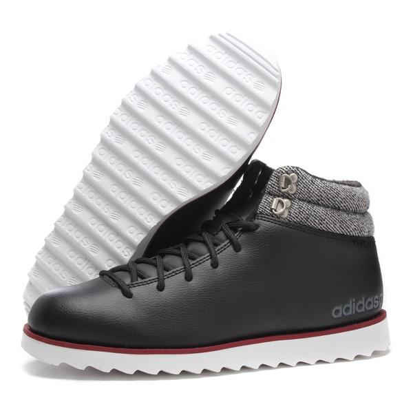 阿迪达斯neo男鞋休闲鞋冬季新款运动鞋高帮f98505热图片