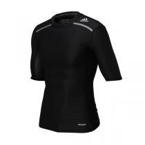 adidas阿迪达斯男装短袖T恤2016新款综合训练紧身服运动服AJ5705