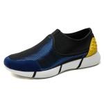朗蒂维男士休闲鞋春季新款Y3拼接一脚蹬懒人鞋流行男鞋网面鞋L16F002A-3