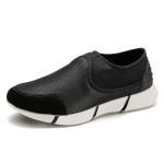朗蒂维男士休闲鞋春季新款Y3拼接一脚蹬懒人鞋流行男鞋网面鞋L16F002A-1【夏季特惠】
