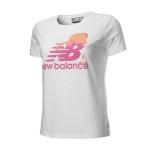L码 瑕疵品 NB/NewBalance 短袖T恤 女CX-EWET5166-WT-00001