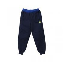 阿迪达斯adidas男小童4-10岁童装加厚加绒运动裤运动服AJ4022