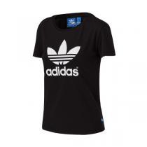 adidas阿迪达斯三叶草女装短袖T恤新款运动服AJ8084 QJ