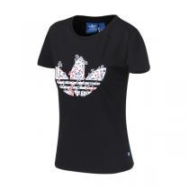 夏  adidas阿迪达斯三叶草女装短袖T恤新款运动服AJ8915