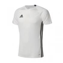 adidas阿迪达斯男装短袖T恤2016新款足球训练三条纹运动服S93534