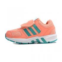 阿迪达斯adidas童鞋女小童4-10岁儿童魔术贴跑步鞋运动鞋