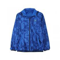 adidas阿迪达斯童服男大童4-13岁梭织双面穿服装外套