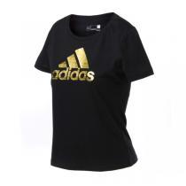 adidas阿迪达斯女装短袖T恤2016新款运动服AZ9463