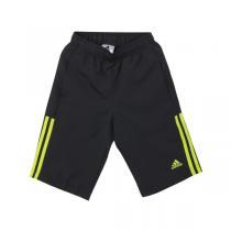 adidas阿迪达斯童运动休闲服装男小童4-10岁梭织运动短裤S22547