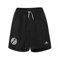 adidas阿迪达斯童运动休闲服装男大童4-13岁梭织运动短裤AC3651